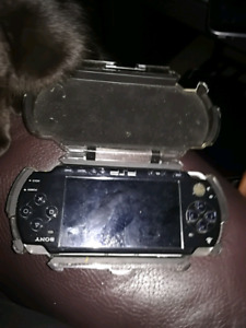 Psp with hard case
