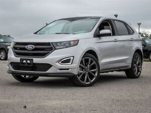 2016 Ford Edge Sport Ecoboost AWD| Heated and Vented Leather| Na