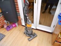 DYSON DC 25 STEEL BALL YELLOW ROOTS NEW EDITION 2 TOOLS EXCELLENT CONDITION STRONG SUCTION