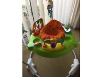 Fisher-Price Roaring Rainforest Jumperoo Price Bouncer Activity Baby
