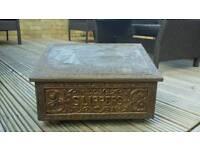 Antique Slipper box