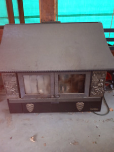 Free Standing Wood Fireplace