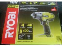 RYOBI 18V 3 SPEED IMPACT WRENCH RRP £110