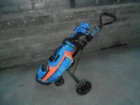 Junior golf clubs PING MOXIE right handed suits between 51 and 59 inches tall plus trolley & wedge