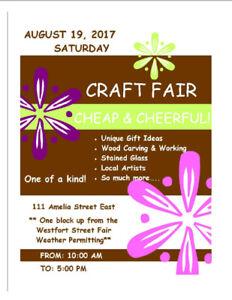 Craft Fair - Cheap & Cheerful!