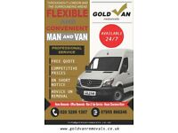 ***GOLD VAN*** 24/7 ***MAN & VAN***
