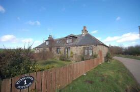 2 Bedroom Semi Detached Cottage in Idyllic Location Close to Aberdeen Airport and Bridge of Don