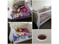 toddler bed, sofa, 3in1, crib, cot bed, boori country collection