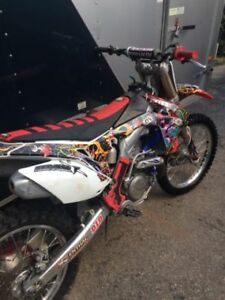 2013 HONDA CRF450 with ownership