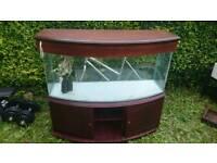 Aqfarium fish tank 225 litre