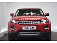LAND ROVER RANGE ROVER EVOQUE 2.2 ED4 PURE 5d 150 BHP (red) 2013