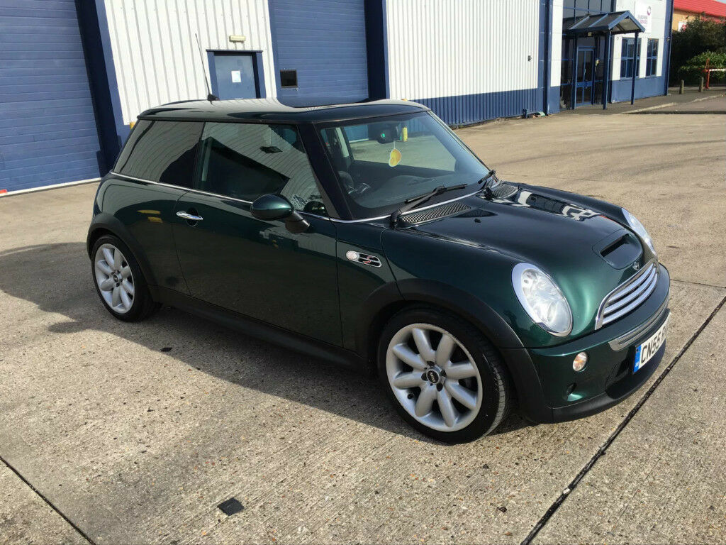 mini cooper s r53 british racing green in southampton hampshire gumtree. Black Bedroom Furniture Sets. Home Design Ideas