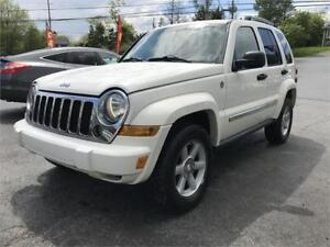 2005 Jeep Liberty Limited 4X4, NEW MVI, ALLOYS, A/C