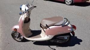 Pink Honda Giorno 2014