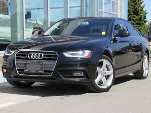 2013 Audi A4 Premium Plus | Quattro AWD | Navigation | Rear Vis