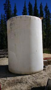 4500 gallon water tank