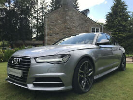STUNNING NEW SHAPE AUDI A6 S LINE SALOON 2.0TDI ULTRA S TRONIC SALOON GREAT SPEC