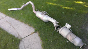 Complete exhaust with DPF for Dodge/Ram/Cummins