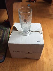 Princess house fantasia crystal tumblers