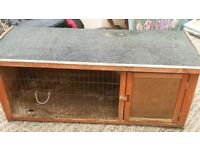 Hutch wooden pet - rabbit guinea pig.