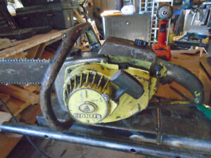 -Old Pioneer Chain Saw