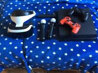 PS4 controllers. VR and games for sale