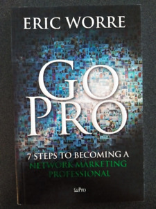 NEW Unused  Set of 1 Book, 2 DVD's . Eric Worre's 7 Steps