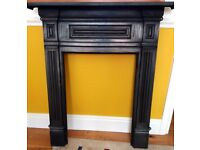 Cast iron fire surround in good condition