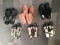 6 pairs ladies high heels BARGAIN