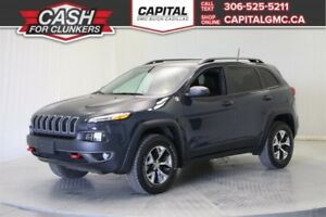 2016 Jeep Cherokee Trail hawk 4WD *Navigation-Heated Seats-Back