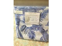 Zara paisley print blue / white duvet covers and sheet double bed