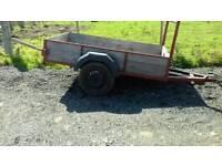 Car trailer 8×4