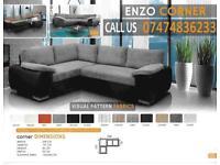 Enzo corner sofa