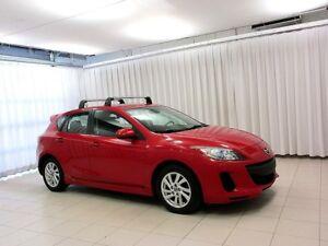 2013 Mazda 3 5DR HATCH w/ HEATED SEATS, ROOF RACK, ALLOY WHEELS