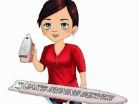 5* ironing service paignton brixham Torquay cleaning cleaner care home help DBS