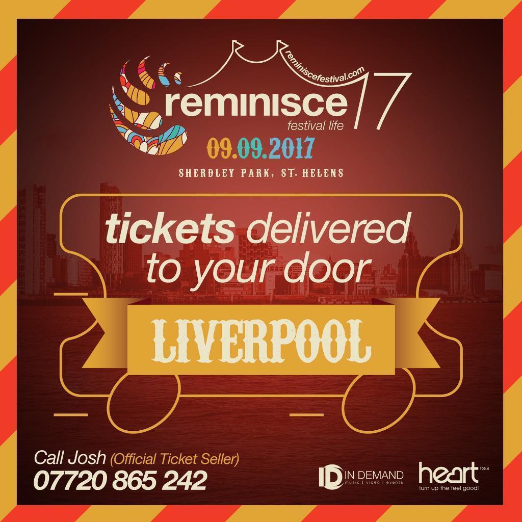 Reminisce festival tickets