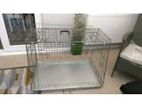 Metal dog cage was 85 new