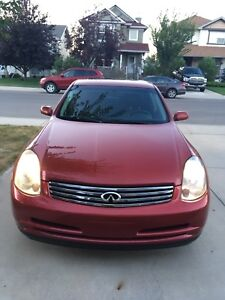 G35X 2004 infiniti for sale