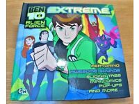 Ben10 Alien Force Extreme Active Sound pop-Up Hardback Comic Book. £3.50