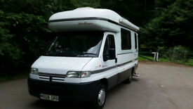 NEAR IMMACULATE AUTOSLEEPER MOTORHOME CAMPERVAN POWER STEERING FSH WITH WARRANTY ZERO RUST OR DAMP