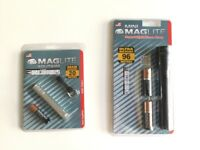 MagLite 96m + 20m Beam Duo + Batteries - Brand New -50%