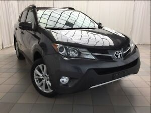 2013 Toyota RAV4 Limited: Accident Free, Leather, Nav.