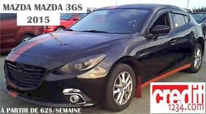2015 Mazda Mazda3 GS, à partir de 51$/SEMAINE   100%APPROUVÉ !!!