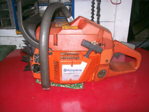 Husqvarna 365 Chainsaw in good shape ready to work