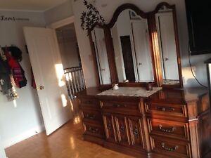 Solid Walnut 6 pc Bedroom Set Cantu North Carolina made