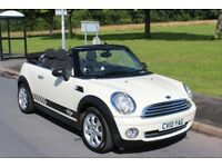 201 Mini One Convertible 1.6 Petrol Manual Pepper Pack Excellent Condition Must See!