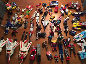 Huge Lot of G1 Transformers Parts