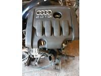 Audi a3 8p 2.0tdi 140bhp BKD bare Engine 97k