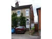 Central Ipswich large bedsit in pleasant shared house