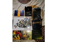 Overwatch Source Book/Postcards Division 16gb Gun USB Zelda CD's & more PS4/Xbox One/Nintendo